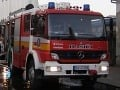 Nočný požiar neďaleko Košíc: Hasiči bojovali s ohňom v dielni neďaleko rodinného domu