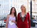 Slovenku roka si prišla vychutnať aj banková ombudsmanka Eva Černá s dcérkou Lindou.