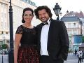 Moderátorke RTVS Karin Majtánovej robil na Slovenke roka spoločnosť jej partner Peter.