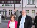 Medzi pozvanými nechýbali ani pán profesor Pavel Traubner a jeho manželka Katarína.