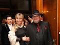 Medzi pozvanými nechýbal ani organizátor Miss Slovensko a prezident Československého leva Jozef Oklamčák s manželkou Ankou.