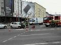 FOTO Nehoda na Trnavskom mýte: Dvaja zranení skončili v nemocnici