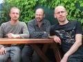 Slovenský výskumný tím (zľava Vladimír Šimo, Dušan Starek, Matúš Hyžný)