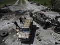 Prímerie na východe Ukrajiny sa nedodržiava: Zahynul ďalší ukrajinský vojak