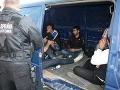 Pri Snine chytili nelegálnych migrantov zo Sýrie a Iraku