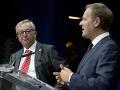 Jean-Claude Juncker (vľavo) a
