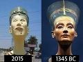 Egypťania terčom posmechu: Mala to byť socha krásnej Nefertiti, vyšlo z toho monštrum!