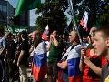 Slovenskom otriasli ďalšie protesty kvôli utečencom: Demonštráciu predčasne ukončili!