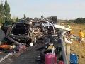 VIDEO Masaker na diaľnici: Tragická nehoda pri Rajke, dvaja mŕtvi cestou na dovolenku do Chorvátska
