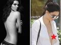 Kendall Jenner brázdila ulice v tope s výstrihom až po pupok, z ktorého jej vykúkali bradavky.