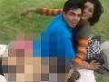 VIDEO Dvojica sexovala vedľa detského ihriska za bieleho dňa: Taxikár jej riadne naložil!
