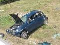 FOTO Vážna dopravná nehoda na diaľnici D1 pri Trenčíne: Deväť zranených!