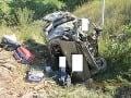 FOTO hororovej nehody na D2: Mladý cudzinec umrel, ostatní prežili zázrakom