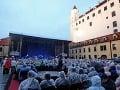 Koncert Toma Jonesa na Bratislavskom hrade.