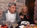 Braňo Kostka a Zdena Studenková  na párty.