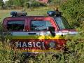 V lese pri Gelnici vypukol požiar, hasiči sa trápia s ohňom už celé popoludnie