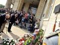 Účastníci pietnej spomienky na obete okupácie Československa