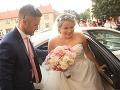 Dominika Mirgová je už vydatou ženou. Pred rokom si zobrala dlhoročného partnera Petra Zvolenského.