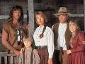 Joe Lando, Jane Seymour a ich seriálové deti.