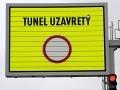 Tunel Šibenik je uzavrený: Dôvodom je olej na vozovke