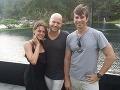 Katarína Gregušková s úspešným režisérom Marcom Forsterom, ktorý sa podieľal aj na filmoch ako Finding Neverland, bondovke Quantum of Solace a iných.