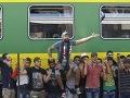 Medzištátne vlaky z Maďarska meškali kvôli migrantom takmer hodinu