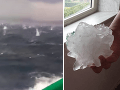 VIDEO Krupobitie storočia v Taliansku: Obrovské ľadové gule zbombardovali mesto
