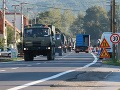 Na križovatke pozor na tank: Cez Slovensko sa bude opäť presúvať vojenská technika