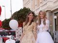 Zľava: Moderátorky Fashion TV Jasmína Alagičová a Mária Zelinová.
