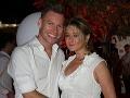 Na párty nechýbal ani bývalý superstarista Thomas Puskailer s manželkou Abbie.