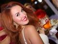 Moderátorka Fashion TV pre Českú republiku Lenka Vacvalová rozdávala všetkým naokolo široké úsmevy.