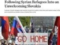 Reportáž celosvetovo známej televízie urobila zo Slovenska nehostinnú krajinu: Utečenci tam nechcú!