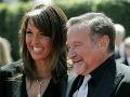 Robin Williams s manželkou
