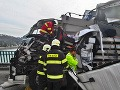 FOTO Nehoda na moste Lafranconi: Rozsiahle zápchy v Bratislave, zdržíte sa hodinu