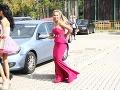 Na svadbe nechýbala Zuzanina kamarátka Lucia Mokráňová.
