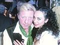 Boris Becker s manželkou Lilly kedysi.