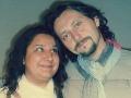 Veronika Danišová na fotke s hercom Lukášom Latinákom. Na zábere síce nevidno celú postavu, no už podľa tváre je jasné, že mala speváčka o niekoľko kíl navyše