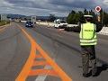 Slováci doplatili na rýchlosť: Polícia vyzbierala na pokutách v roku 2015 obrovskú sumu