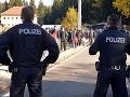 Nemecká polícia stráži hranice