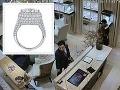 Krádež luxusného prsteňa v Bratislave: VIDEO Diamanty za 300 tisíc eur zmizli jednoduchým trikom