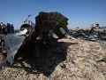 Vyšetrovatelia sú si takmer na sto percent istí: Ruské lietadlo zničila bomba, tu je dôkaz