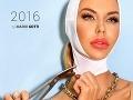 Eva Cifrová sa stala tvárou kalendáru pre kliniku krásy.