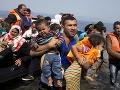 Dramatická situácia v utečeneckých táboroch: Grécky premiér vyzýva na prijatie migrantov