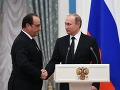 Napätie medzi Ruskom a Západom neustále stúpa: Putin odložil návštevu Francúzska