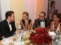Fashion Sparkling Charity Night 2015. Pred rokom sa na akcii Andrea zabávala aj s Borisom Kollárom.