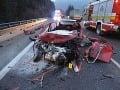 Hrôzostrané FOTO nehody pred tunelom Horelica: Vodič (†49) zahynul po zrážke s kamiónom
