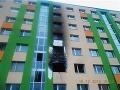 Rodina pri požiari bytu mohla uhorieť: Strašnú nehodu na FOTO spôsobil skrat v nočnej lampe