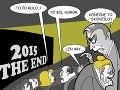 KARIKATÚRA Rok 2015 ako zlý film