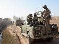 Brutálne vyčíňanie militantov: Pri útoku zahynulo najmenej osem policajtov
