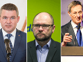 Pellegrini, Sulík a Hrušovský sa zhodli: Kultúra NRSR sa zhoršuje, Smer sa zabarikádoval